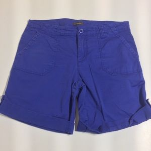 Denver Hayes royal blue cargo shorts